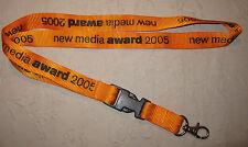 NEW Media Award 2005 chiave a nastro Lanyard Nuovo (t111)