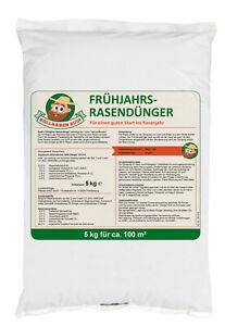 Frühjahrs-Rasendünger mit Langzeitwirkung  5 kg - Rollrasen Rudi