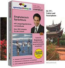 Singhalesisch - Starter Kit, Sprachkurs für Ihren Urlaub in Sri Lanka