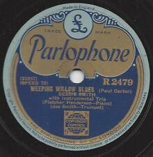 Bessie Smith : Weeping Willow Blues  + Careless Love Blues