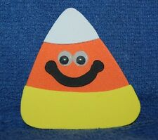 Halloween Candy Corn, Foam Refrigerator Magnet, Made in the USA