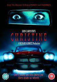 John Carpenter's Christine Dvd Keith Gordon Brand New & Factory Sealed (1983)