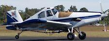 S-2-R Turbo Thrush R-Mach Ayres Airplane Mahogany Kiln Wood Model Small New