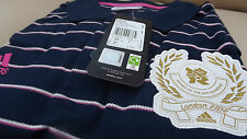 LONDON OLYMPIC THREE STRIPES POLO SHIRT (OFFICIAL LICENSED PRODUCT)