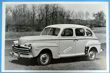 "1946 Ford  4 Door Super Deluxe 12 x 18"" Black & White Picture"