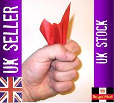 Silk hanky vanish magic trick  thumb tip + silk close up magic