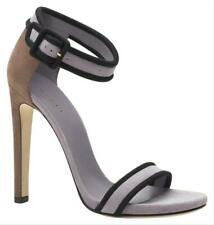 $650 New Authentic GUCCI Suede Sandal w/Ankle Strap Lilac EU 38/ US 8 311379 537