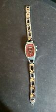 Fossil Big Tic Ladies Quartz Watch  with a Red/Heart Face blinking new battery