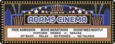 Custom Movie Theater Sign Cinema Marquee Home Theater Wall Decor