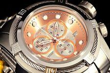 Invicta Reserve Swiss Bolt Zeus ETA Chronograph SS Jubilee Bracelet Watch NEW !!
