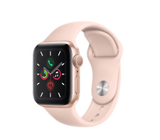 Apple Watch Series 5 40mm Gold Aluminum with Sport Band GPS ONLY MWV72LL/A NEW