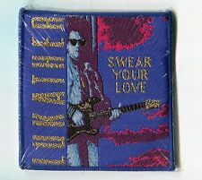 "Steve Lukather SEALED 3"" CD SWEAR YOUR LOVE Patch TOTO LOS LOBOTOMYS EL GRUPO"
