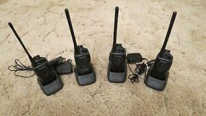 Kenwood TK 2300 FM Transceiver Portable Handheld Radio Lot of 4