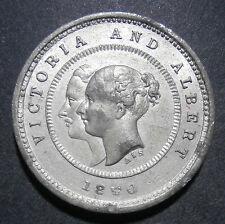 Royaume-Uni Medallion-Polytechnique institution LONDON 1840 VICTORIA & ALBERT-WM 27.6 Mm