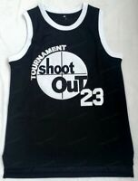 Motaw #23 Above The Rim Shoot Out Tournament Basketball Jersey Men's Sewn Black