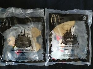 NEW Minnie & Mickey Mouse McDonald's Figures 2005 Happiest Celebration On Earth