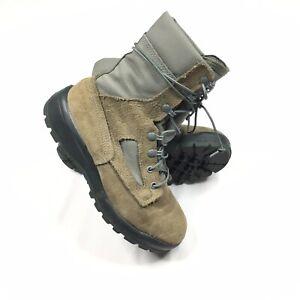 Belleville Combat Boots USAF Womens Size 7.5 FAFTW Gore-tex Vibram Sole Sage EUC