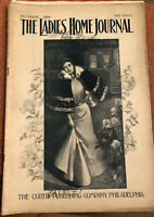 """LADIES HOME JOURNAL OCTOBER 1896  GREAT VINTAGE CONDITION 11"""" X17"""""""