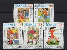 Laos 1996 SG#1502-6 World Cup Football Cto Used Set