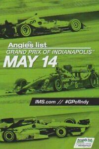 2016 Alexander Rossi + Scott Dixon + Will Power Indy Grand Prix Indy Car handout