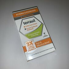 Terrasil Natural Eczema & Psoriasis Fast/Effective Relief 2 Tube System