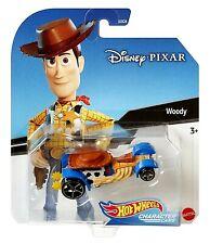 Hot Wheels DISNEY PIXAR Character Cars WOODY Toy Story Die-Cast Car Mattel GCK28