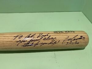 Jose Canseco Bat Gifted To Jeb Bush