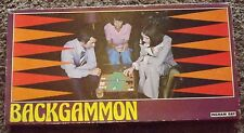 Vintage Retro Ingham Day Backgammon Board Game