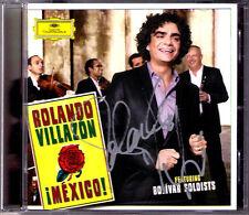 Rolando VILLAZON Signiert MEXICO! Besame mucho Noche de ronda Cucurrucucu paloma