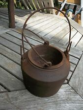 Vintage Cast Iron Glue  Pot  Clark & Son 1 pint