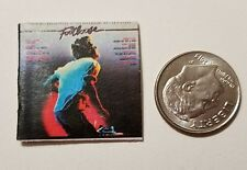"Dollhouse Miniature Record Album 1"" 1/12 scale Barbie  Footloose Kevin Bacon"