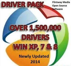 Universal Computer Driver Pack Install - Win 8 Win 7 Vista XP - 1st Class Post