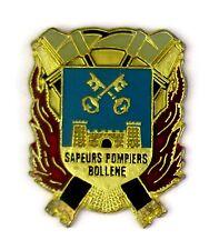 PINS SAPEURS POMPIERS BOLLENE (VAUCLUSE)