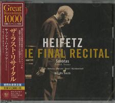 JASCHA HEIFETZ-THE FINAL RECITAL-JAPAN 2 CD Ltd/Ed C94