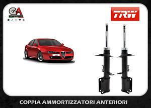 2 AMMORTIZZATORI ANTERIORI TRW ALFA ROMEO 159 BRERA SPIDER 1.9 2.0 2.4 JTDM