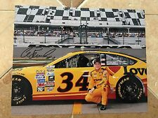 Chris Buescher Signed 8x10 Daytona Photo COA NASCAR Autograph