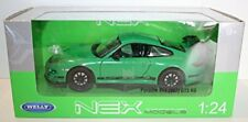 Welly - PORSCHE 911 GT3 RS (997) Green - Die Cast Model Scale 1:24