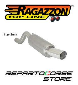 RAGAZZON SCARICO TERMINALE ROTONDO 90mm OPEL CORSA D 1.2 80Cv 2006>>2011