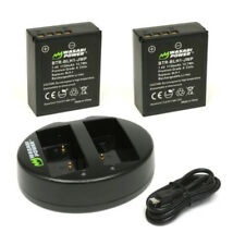 Wasabi Power 2pack Blh1 for Olympus Blh-1 Lithium Ion Battery USB Dual Charger