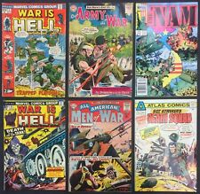 Mixed War Comics (Lot of 6) Vintage 1964-1986