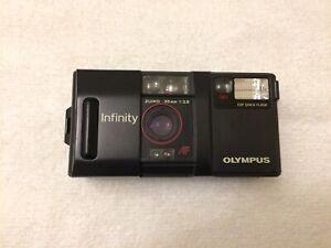 TESTED Olympus Infinity AF-1 35mm 2.8 Zuiko Lens Stylus Film Camera Weatherproof