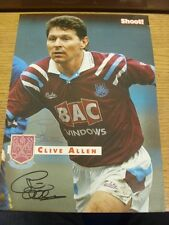 1991/1992 AMP: West Ham United - Allen, Clive. Bobfrankandelvis the ebay trading