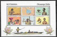 Botswana 1978 Okavango Delta miniature sheet