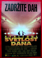 DAYLIGHT 1996 SYLVESTER STALLONE AMY BRENNEMAN ROB COHEN RARE EXYU MOVIE POSTER