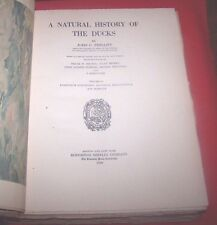 """*1926* 1st Edition  """"Natural History Of The Ducks""""  J. Phillips Vol. IV"""