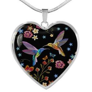 Böhmischer Kolibri - Herzkette