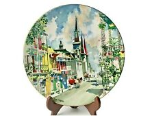 Collector Plate French Quarter Dong Kingman #6543 Ltd Ed