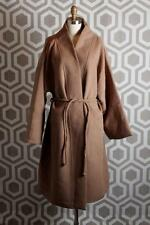 NWT Mara Hoffman Wool Wrap Coat Camel Large L $598