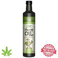 Australian Certified 100 Organic Cold Pressed Hemp Seed Oil 250ml-2l Available 250ml