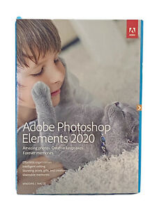 Adobe Photoshop Elements 2020 (PC/MAC, Disc Version) - PN 65299344 - New Sealed